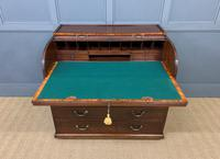 Georgian Mahogany Double Sided Tambour Roll Top Desk (11 of 26)