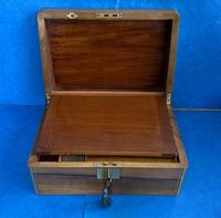 Victorian Brassbound Walnut Writing Slope (2 of 14)