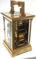 Superb Large Antique French 8-day Striking Carriage Repeat Feature Clock c.1880 (12 of 13)
