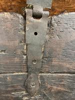 A rare 16th Century solid Oak Gothic Coffer (5 of 7)