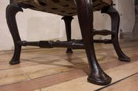 18th Century Ebonised & Upholstered Queen Anne Side Chair (4 of 13)