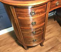 Edwardian Inlaid Mahogany Kidney Shaped Desk (10 of 21)