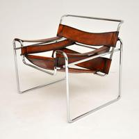 1960's Vintage Wassily Armchair by Marcel Breuer for Gavina (3 of 9)