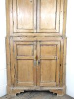 Antique Pine Free Standing Corner Cupboard (3 of 10)