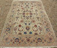Good Pair of Antique Kashan Carpets (8 of 11)