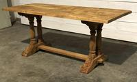 French Refectory Farmhouse Dining Table (8 of 14)