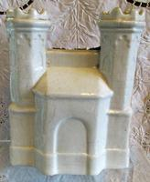 Antique English Victorian Staffordshire Pottery Gothic Castle (3 of 6)