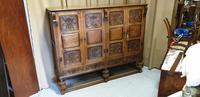 Superb Carved Oak Cupboard on Stand (11 of 34)
