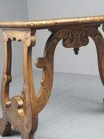 Antique Spanish Style Gilded Side Table by Whytock & Reid (13 of 14)