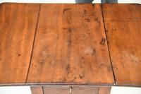 Antique Mahogany Drop Leaf Table (4 of 12)