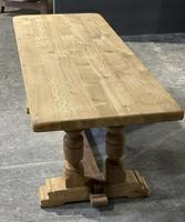 French Oak Refectory Farmhouse Dining Table (4 of 12)