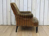 Antique Napoleon III Armchair for re-upholstery (5 of 8)