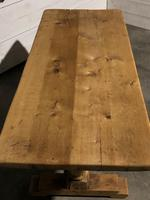 French Bleached Oak Farmhouse Dining Table (2 of 10)