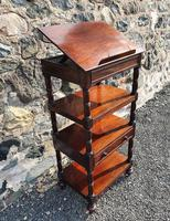 Superb Quality Gillows Mahogany Whatnot (2 of 9)