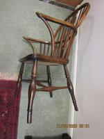 19th Century Wheel-back Windsor Chair (5 of 6)