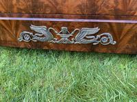 French Empire Commode in Flame Mahogany (2 of 10)