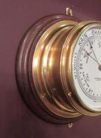 Antique  London Bulkhead Marine Barometer (2 of 7)