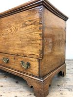 18th Century Elm Mule Chest with Hinged Top (13 of 14)