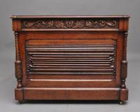 19th Century Carved Oak Partners Desk (7 of 17)