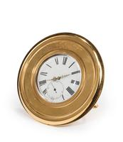 Late 19th Century Brass Table Watch or Strut Clock (3 of 5)