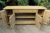 Big! Old 2m Pine Dresser Base / Sideboard / Cupboard / TV Stand - We Deliver! (9 of 13)