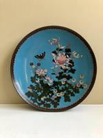 Antique Pair of Japanese Cloisonne Plates, Meiji Period (3 of 12)