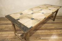 Early 20th Century French Painted Refectory Table (11 of 14)