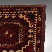 Antique Tekke Torba, Caucasian, Woven, Tent Bag, Decorative Wall Covering, 1900 (6 of 10)