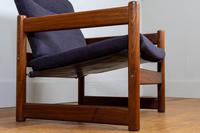 Super Mid Century 1960-70s Campus Armchair by Lupton Morton - 1 Remaining (4 of 13)