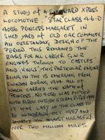 Oil Painting Railway Train Engine Princess Margaret 4056 With Figures Signed Ken Allsebrook (13 of 13)