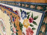 Vintage Chinese Silk Carpet 2.43m x 1.59m (3 of 11)