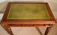 William IV Mahogany Small Writing Table (2 of 6)