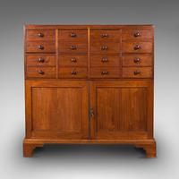 Antique Butler's Cabinet, English, Walnut, Estate, Chest of Drawers, Victorian (3 of 13)