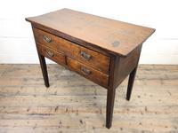 Early 19th Century Oak Lowboy Side Table (4 of 13)