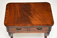 Antique Regency Style Mahogany Side Table (7 of 8)