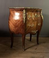Small French Louis XVI Style Bombe Commode (4 of 12)