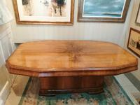 Fine Quality Art Deco Dining Table (2 of 10)