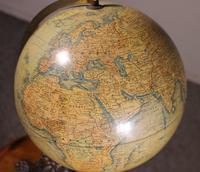 Terrestial Globe From J.lebègue & Cie Circa 1890 From Paris (3 of 12)
