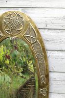 Arts & Crafts Movement Scottish / Glasgow School Large Oval Wall Mirror c.1900 (22 of 28)