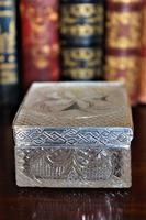 Extremely Attractive & Very Finely Cut Crystal Glass Box (3 of 6)
