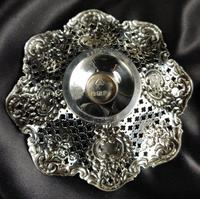 Small Pair of Late Victorian Silver Bonbon Dishes (3 of 5)