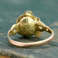 The Vintage Serpent & Garnet Ring (5 of 6)