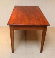 Small Proportioned French Provincial Cherry Wood Table (8 of 10)