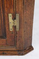 Georgian Oak Hanging Corner Cupboard (8 of 13)