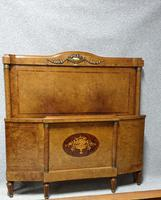 Fab Burr Walnut French Double Bed (2 of 9)