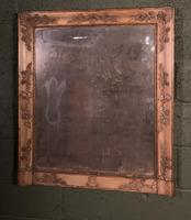Empire Period Distressed Painted Foxed Plate Mirror (8 of 10)