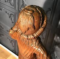 Italian Carved Hardwood Figure of a Boy (22 of 23)