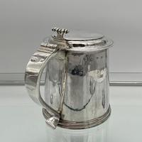 17th Century Antique Charles II Silver Tankard & Cover London 1683 Nathaniel Weekley (5 of 12)