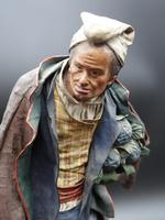 A Very Well Modelled Mid 19th Century Papier-Mâché Figure of a Fruit Seller (5 of 5)