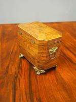 George IV Inlaid Rosewood Tea Caddy (8 of 9)